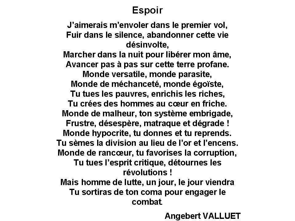 Valluet Angebert La Voix Du Silence Lactualite Litteraire